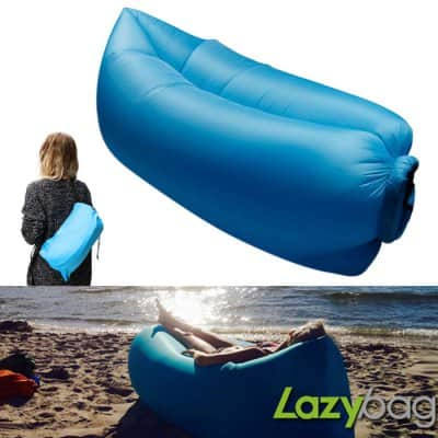 Gazelle Outdoors Inflatable Nylon Lazy Bag $7.80 + free shipping