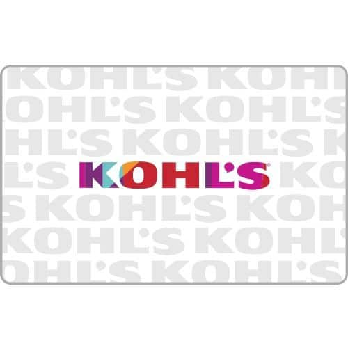 Buy a $50 Kohl's Gift Card, Get $10 FREE - mail delivery