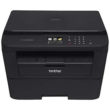 Brother HL-L2380DW 2380DW Wireless Laser MFC Printer $70 @OD