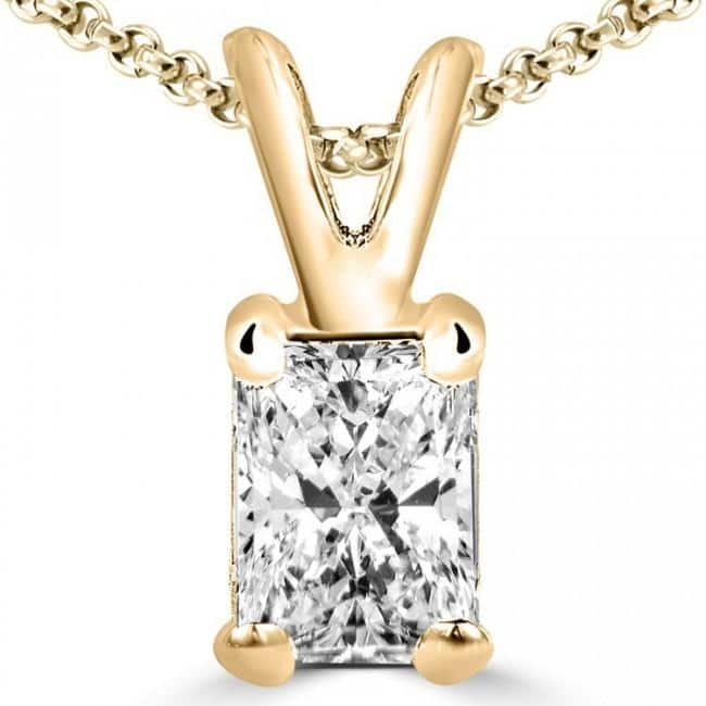 Swarovski Zirconia 18k Gold Plated Pendent/Chain Necklace $4.99 + Free Shipping