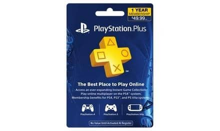New Groupon Customers: 1-Year PlayStation Plus Membership Card  $37.50 + Free Shipping