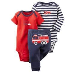 3-Piece Carter's Baby Set (2-Bodysuits & Pants)  from $6 + Free Shipping