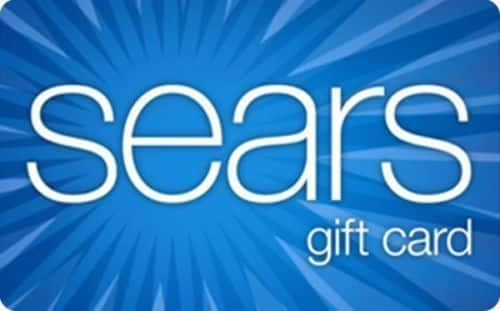 $100 Sears Gift Card (Email Delivery)  $88