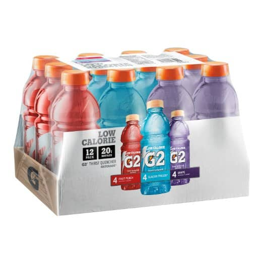 Back to School Promo $5 off 2 Items: 24-Count 20oz Gatorade  $13.25 & More + Free S&H