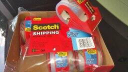 6-Pack of Scotch Heavy Duty Packaging Tape w/ Dispenser $7.76 + free shipping