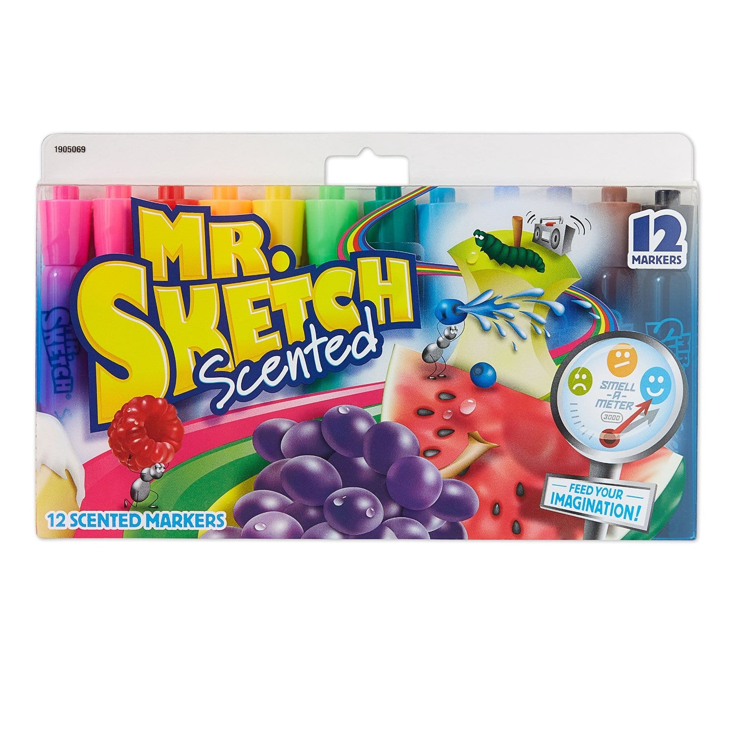 Mr. Sketch Assorted Scent Markers (12 Pack ) $4 @ Amazon w/ Free Prime Shipping