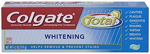 6-Pack 4.2 oz Colgate Total Whitening Gel Toothpaste $7.86 or less + free shipping (prime only)