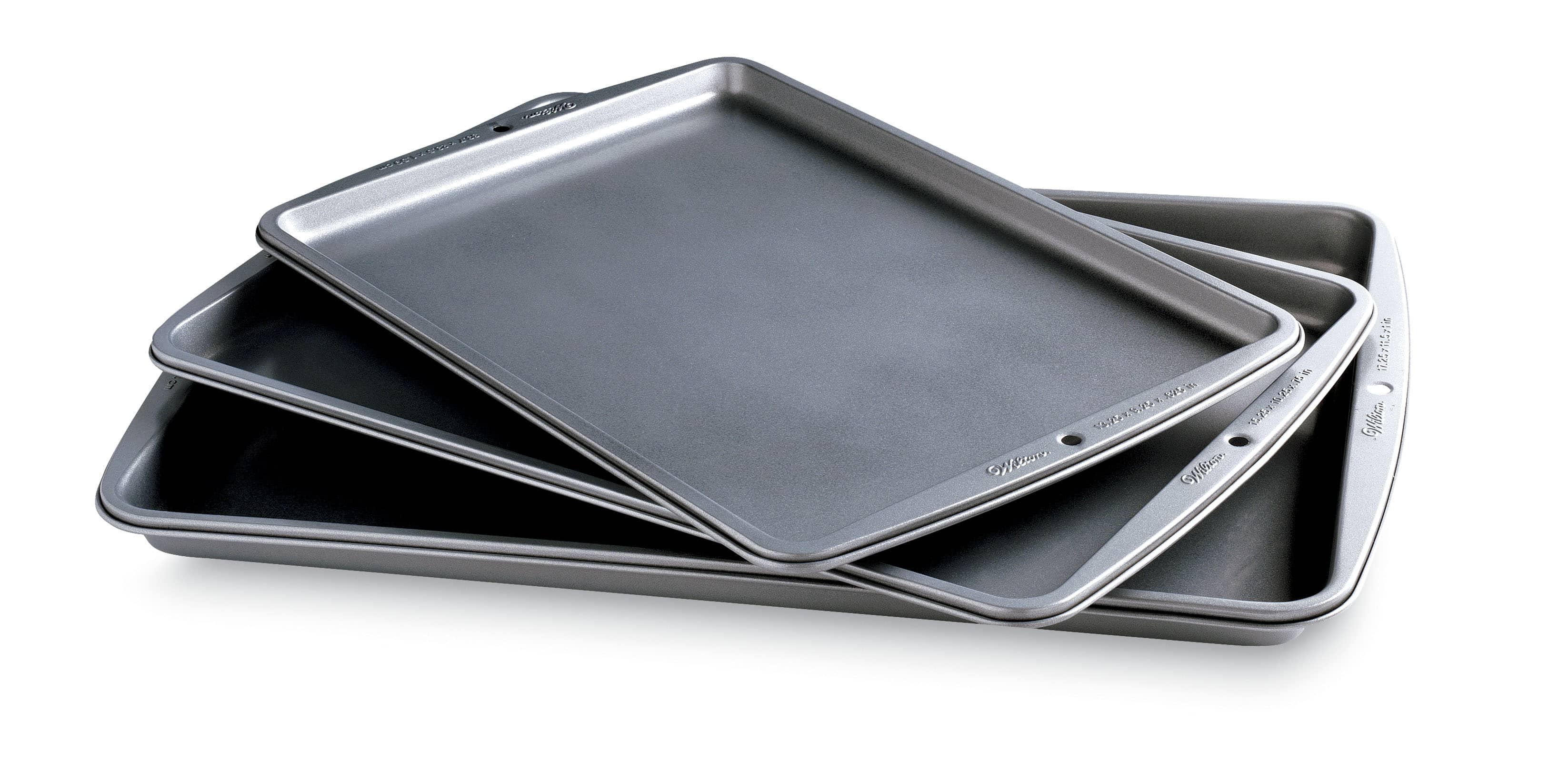3-Piece Wilton Baking Basics Cookie Sheets + $10 SYW Points  $16.20 + Free Store Pickup
