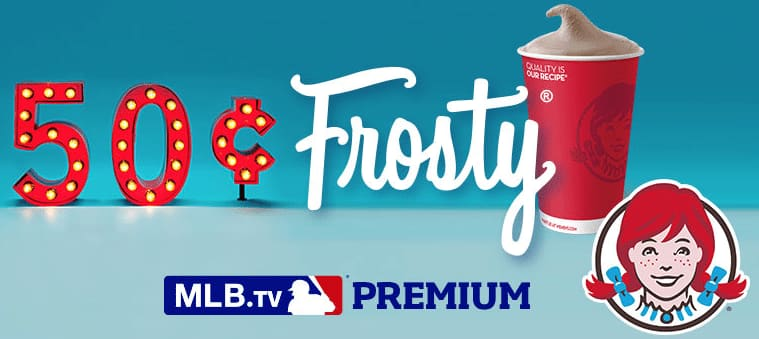 Buy Wendy's Frosty Get MLB Premium Subscription (2016 Season)  Free (Twitter or Instagram Required)
