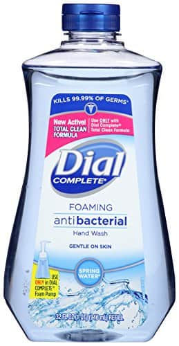 32oz Dial Complete Antibacterial Foaming Hand Wash $3 Amazon S&S w/ Coupon