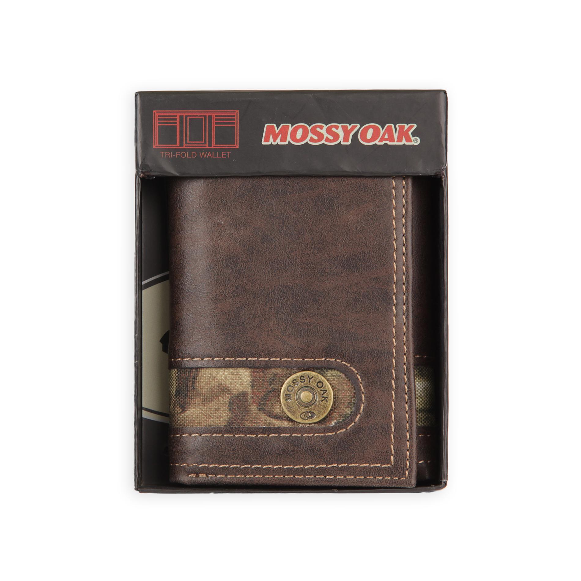 Men's: Tri-Fold or Bi-Fold Wallet + $10 SYW Points  $13 + Free Store Pickup