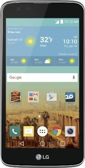"""8GB LG Tribute 5 5"""" Prepaid Phone for Boost Mobile  $20 + Free Store Pickup"""