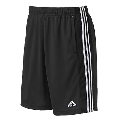 Men's Adidas Essential Climalite Performance Shorts  $12.75 & More + Free Store Pickup