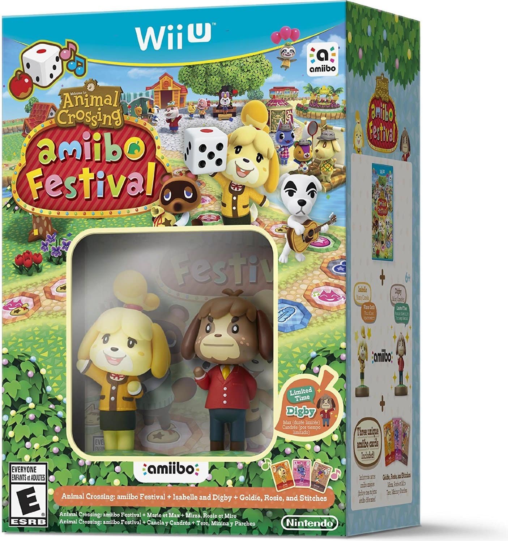 Animal Crossing: amiibo Festival w/ amiibo Figures (Wii U) $19.99 (or $15.99 w/ GCU) + Free In-Store Pickup