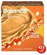 6-Count 1.76oz Balance Bar Peanut Butter $4.09 or less + free shipping