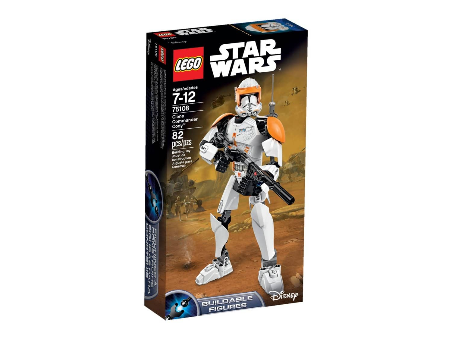 Lego Star Wars Clone Commander Cody Building Kit (75108)  $14 + Free Store Pickup