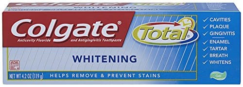 6-Pack 4.2 oz Colgate Total Whitening Gel Toothpaste $7.86 or less S&S @Amazon
