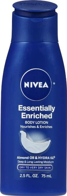 6-Pack 2.5oz Nivea Essentially Enriched Body Lotion $4.35 or less + free shipping @ Amazon