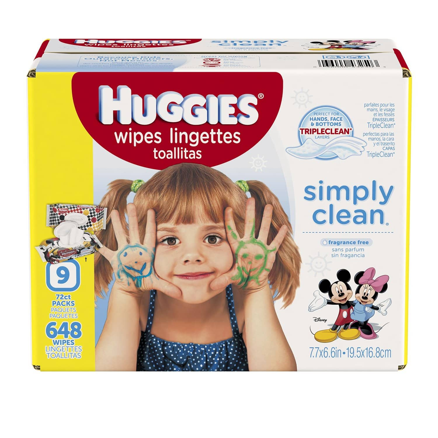 Huggies wipes 648ct for $7.78 or less after 35% coupon and S&S @Amazon