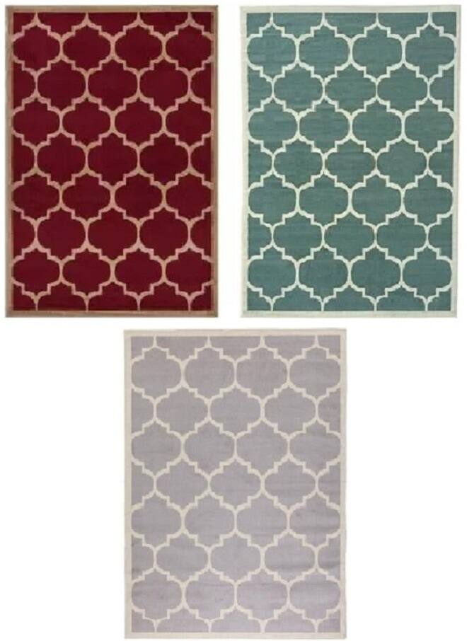 Contemporary Moroccan Trellis Design 5'x7' Area Rug  from $28 + Free Store Pickup