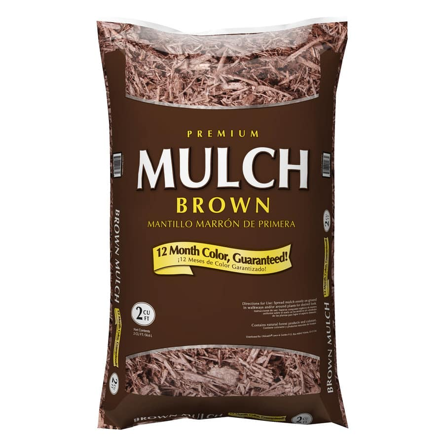 2 cu. ft. Premium Hardwood Mulch (Brown or Red)  $2 + Free Store Pickup