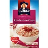 8-Pack of 10-Count Quaker Instant Oatmeal (strawberry & cream) $12.43 or less + free shipping @ Amazon