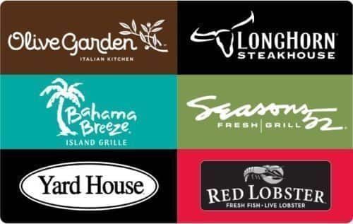 $50 Darden Restaurants Gift Card w/ Bonus $10 Code - Email delivery for $50 + Free Shipping (eBay Daily Deal)