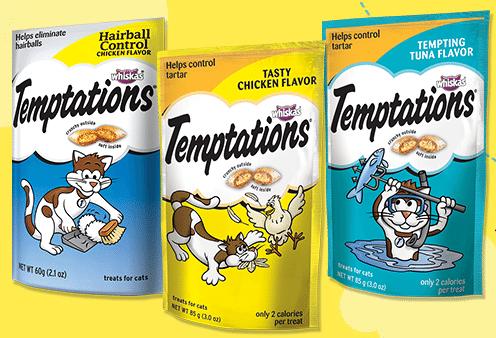 FREE Temptations Cat Treats Sample - Walmart