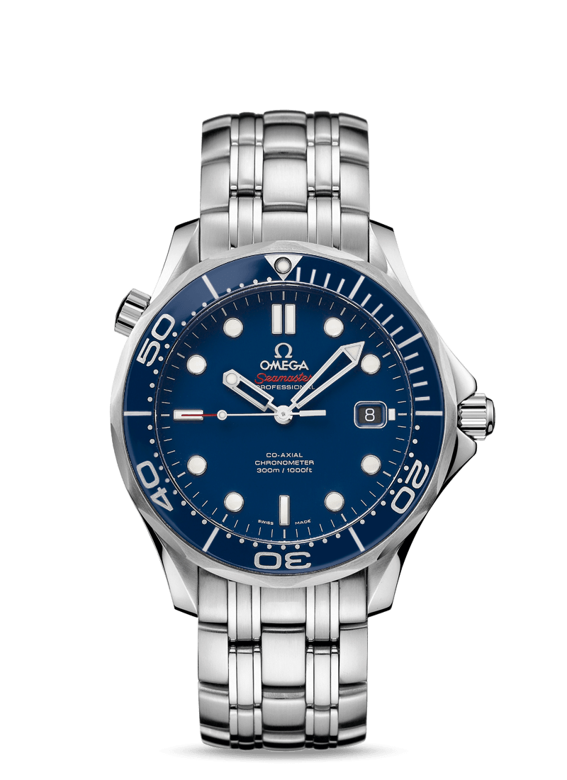 Omega Seamaster Blue Dial Automatic Stainless Steel Men's Watch  $2645 + Free Shipping