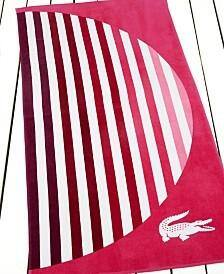 Lacoste Beach Towels (Various)  $10.20 + Free Store Pickup