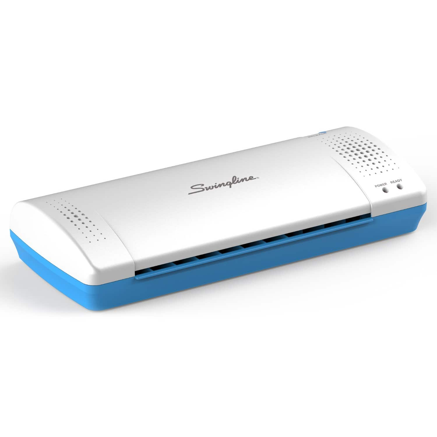 "Swingline Thermal Laminator Inspire Plus 9"" w/ Laminating Pouches  $15.40"