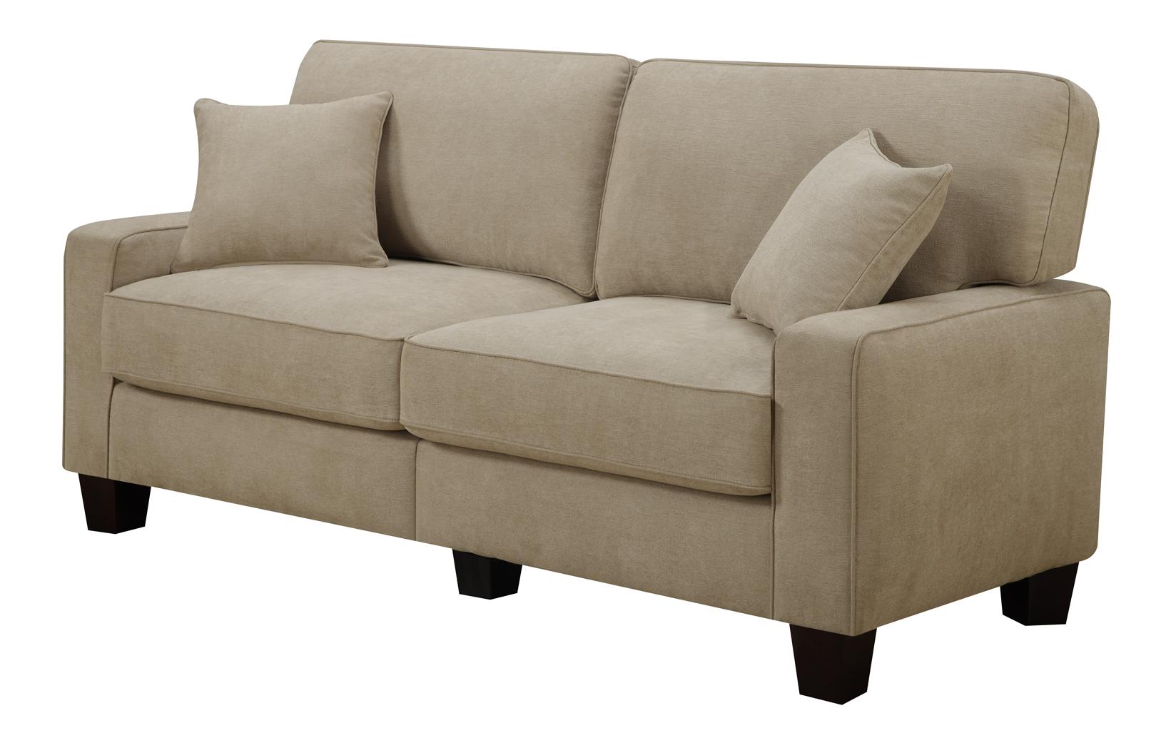 "73"" Serta Navarre Collection Sofa (Beige)  $201 + Free Shipping"