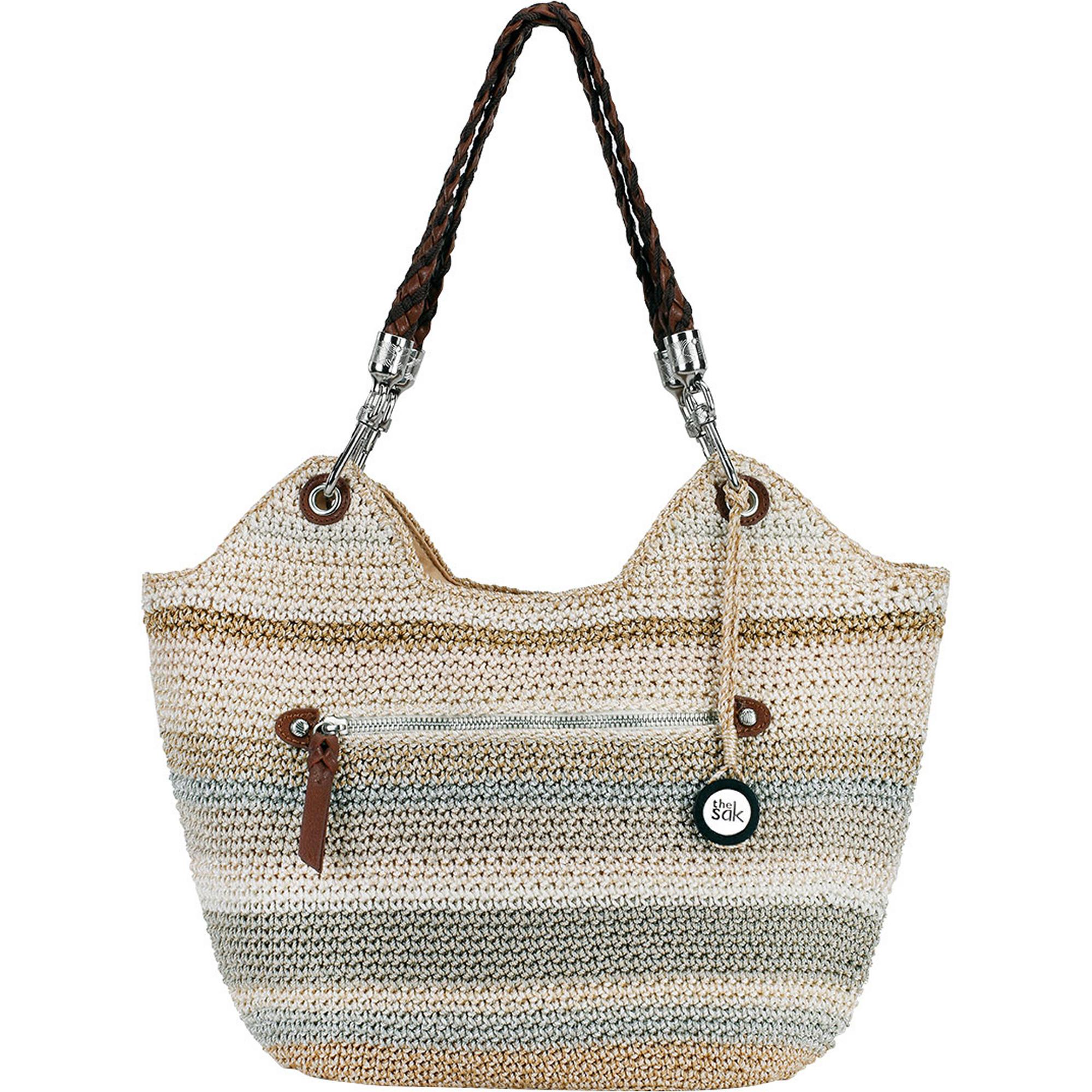 Costco Members: The Sak Indio Satchel (Sand Stripe)  $10 + Free Shipping