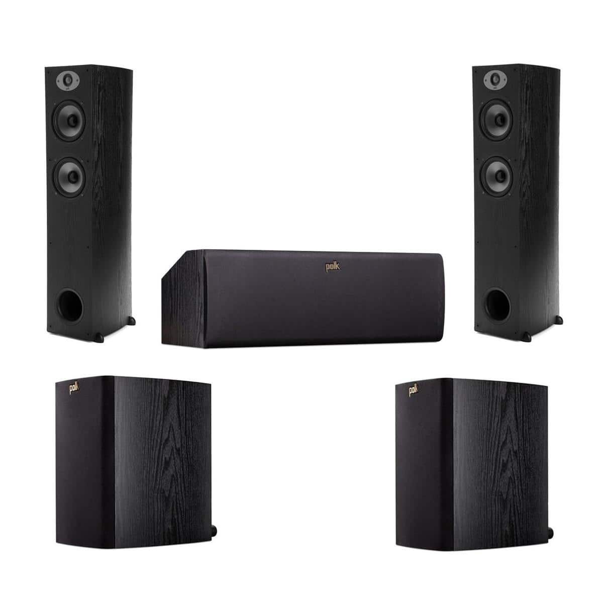Polk Audio TSx Speaker Bundle: 2x Floor, Center & 2x Bookshelves  $430 + Free Shipping