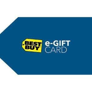 Free $15 Savings Code with $150 in Best Buy e-Gift Cards