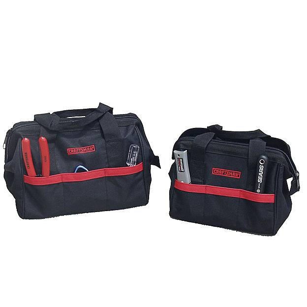 Craftsman 10 in. and 12 in. Tool Bag Combo  $7.49  w/store pick up ~ Sears
