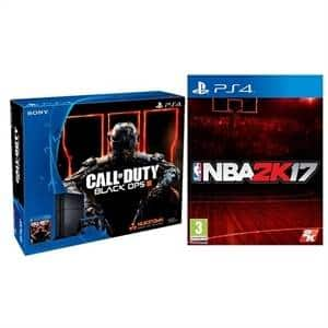 500GB PS4 COD: BO III + NBA 2K17 + $75 Dell Gift Card  $300 + Free S/H