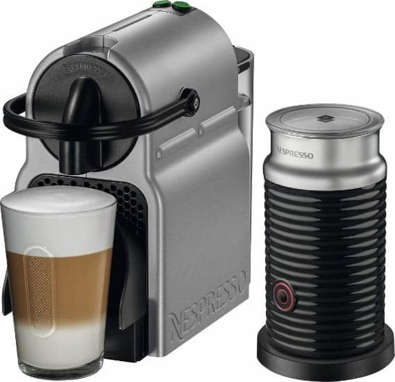 Nespresso Inissia Espresso Maker w/ Frother + Sample Kit  $100 + Free S/H