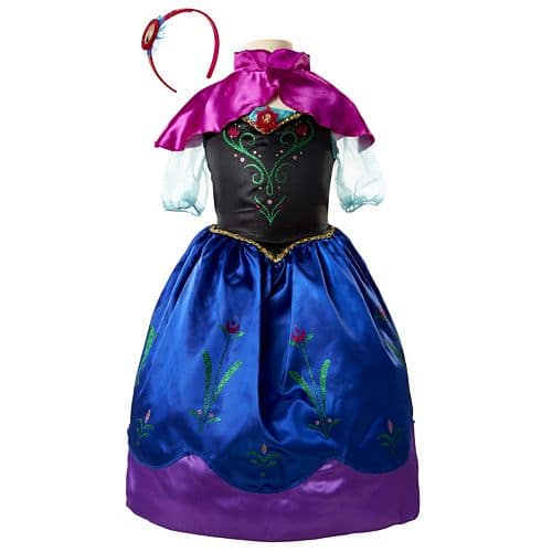 Disney Princess Costume (Girls 4-6x) + Accessory  $10