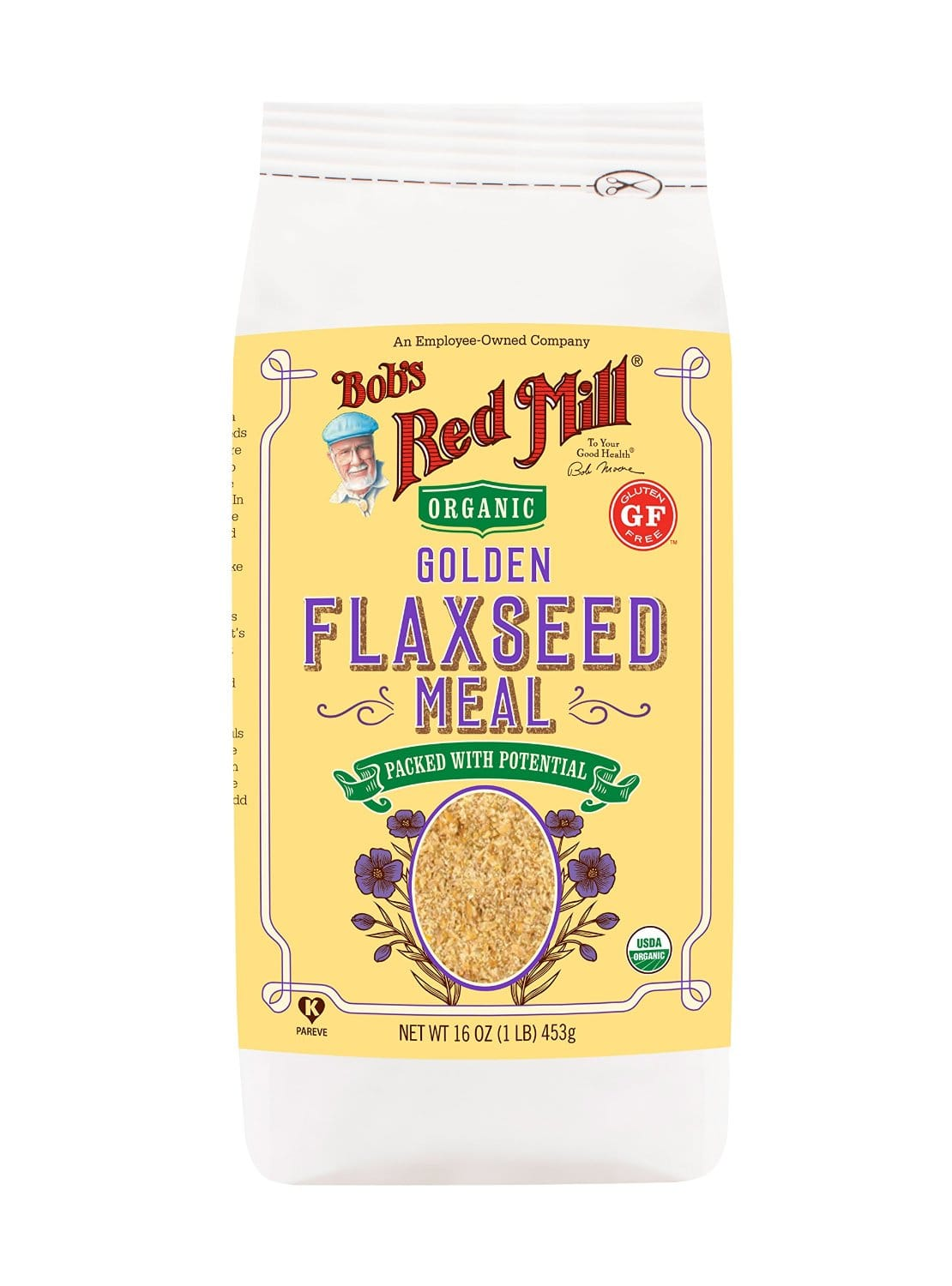 Prime Members: 4-Pk 16oz Bob's Red Mill Organic Golden Flaxseed Meal  $10 + Free Shipping