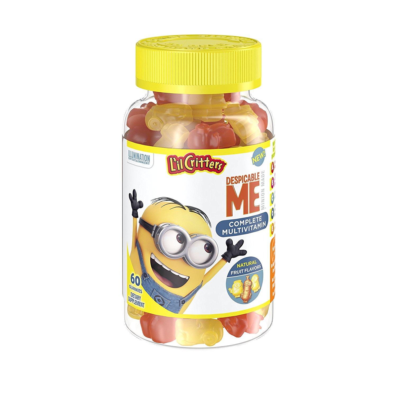 60-Count L'il Critters Minions Multivitamins Gummies $1.60 + free shipping @ Amazon