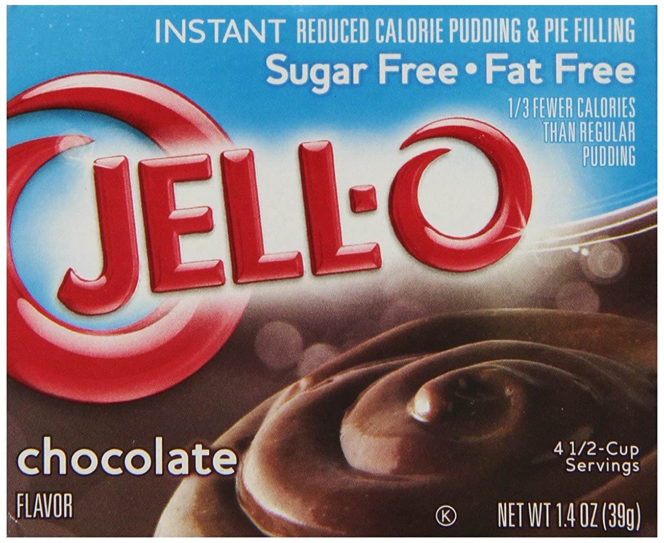 6-Pk 1.4oz Jell-O Sugar-Free Instant Pudding (Chocolate)  $1.35 + Free Shipping