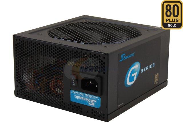 550 Watt SeaSonic G Series 80 Plus Gold Certified Semi-Modular Power Supply  (SSR-550RM) for $44.99 AR + Free Shipping  @ Newegg.com
