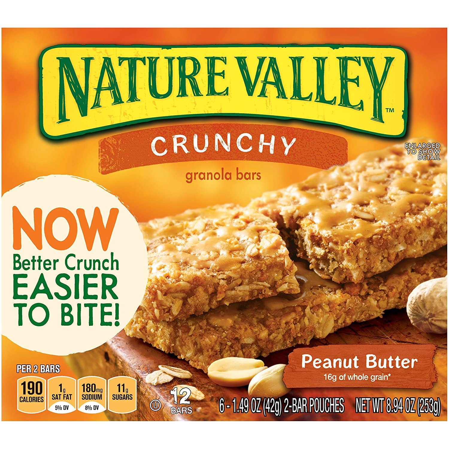 36-Count 1.49oz Nature Valley Crunchy Granola Bars (Oats & Dark Chocolate)  $9.60 + Free Shipping