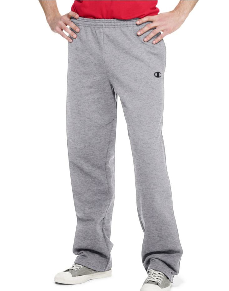 Champion Men's: Eco Fleece Sweatpants $10, 2-Pk Performance Boxer Brief  $8 & More + Free S&H