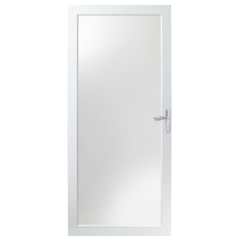 """36"""" x 80"""" Andersen 4000 Series White Fullview Storm Door  $189 + Free Shipping"""
