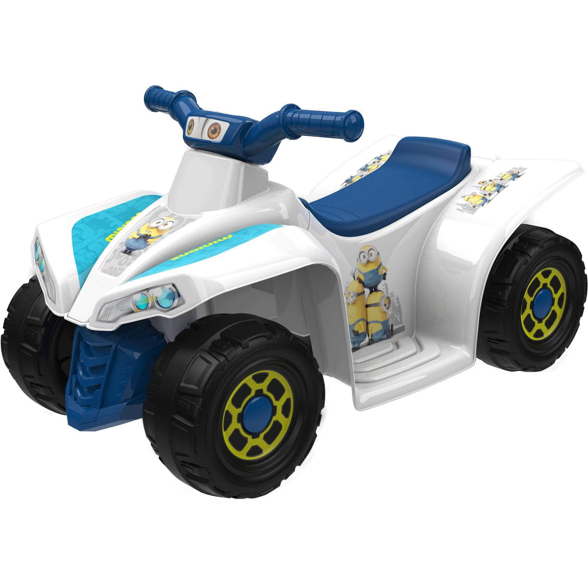 Dynacraft 6V Little Quad Electric Battery-Powered Ride-On (Minions) $39 + Free Store Pickup Walmart.com