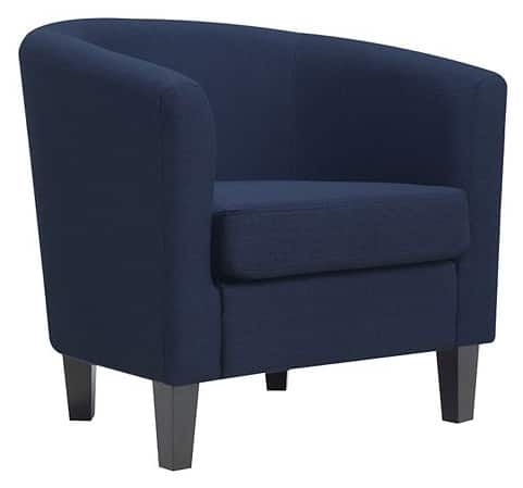 Riley Barrel Arm Chair + $20 Kohl's Cash (Various Colors/Patterns)  $112 or less & More + Free S/H