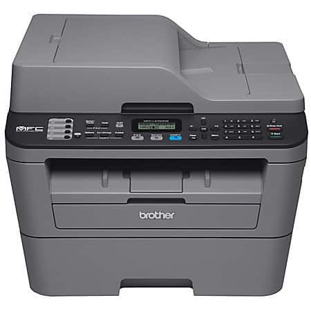 Brother Compact Wireless Monochrome Laser AIO Printer (MFCL2700DW) + Bowl Set  $101 + Free Shipping