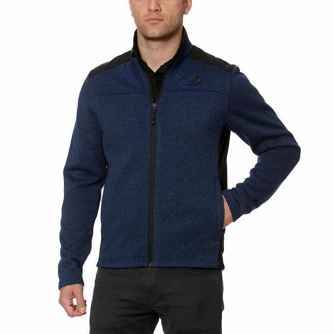 Costco Wholesale - Gerry Men's Mixed Media Jacket. $14.99 plus tax, shipping is free.